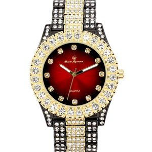 Bling-ed Out Round Watches - ST10327-TT